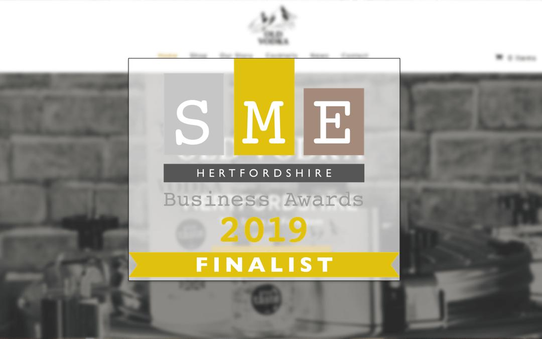 Old Vodka are Finalists at SME Hertfordshire Awards